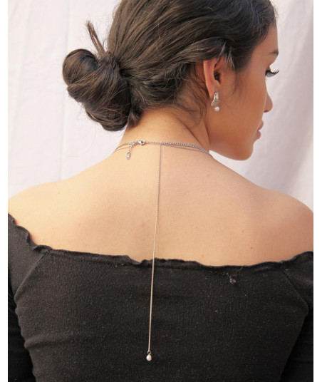 COLLAR DOBLE PERLA